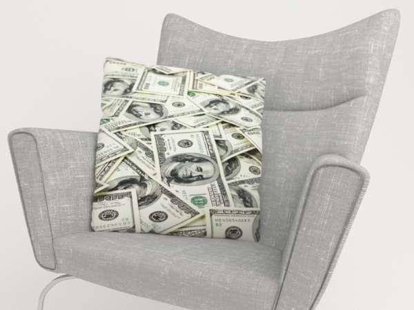 Foto-Kissenbezug: DOLLARS