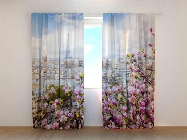 Fotogardinen: MAGNOLIEN VON PARIS