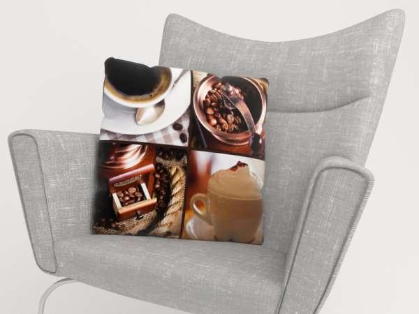 Foto-Kissenbezug: KAFFEE COLLAGE 5a