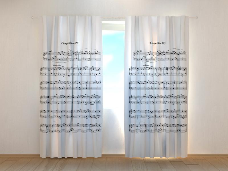"""Fotogardine /""""Rosen und Herzen/"""" Vorhang mit Fotodruck Fotovorhang Maßanfertigung"""