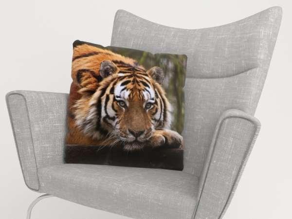 Foto-Kissenbezug: WEISHEIT DES TIGERS