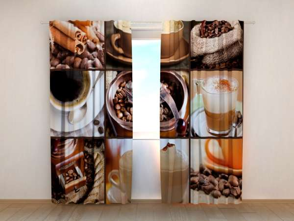 Fotogardinen: KAFFEE COLLAGE 5
