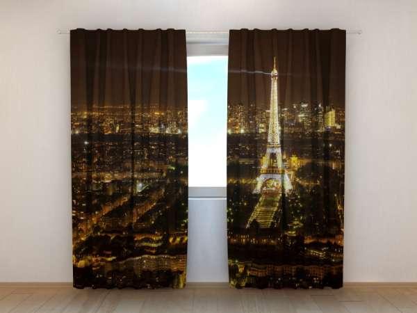 Fotogardinen: PARIS BEI NACHT