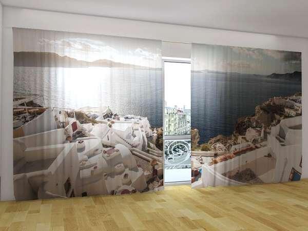 Panorama-Fotogardinen: SONNENAUFGANG IN GRIECHENLAND