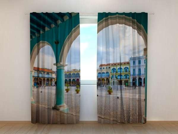 Fotogardinen: KOLONIALE ARCHITEKTUR AUF KUBA