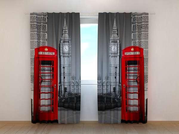 Fotogardinen: LONDONER TELEFONZELLEN