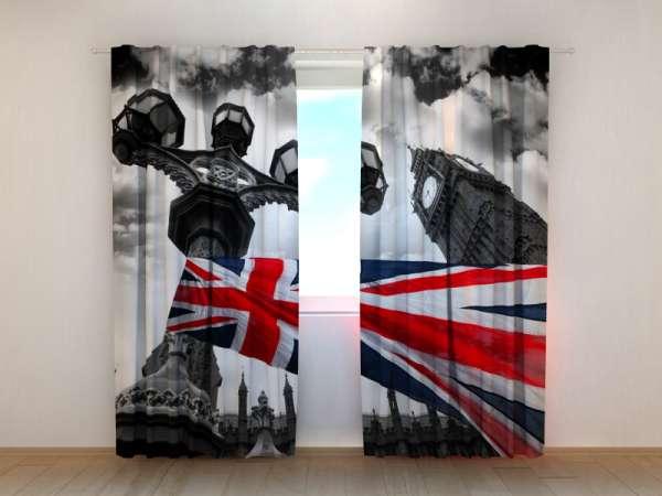 Fotogardinen: BRITISCHE FLAGGE